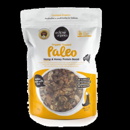 Muesli Paleo Hemp Nut Protein Boost Organic 425g - Eclipse Organics