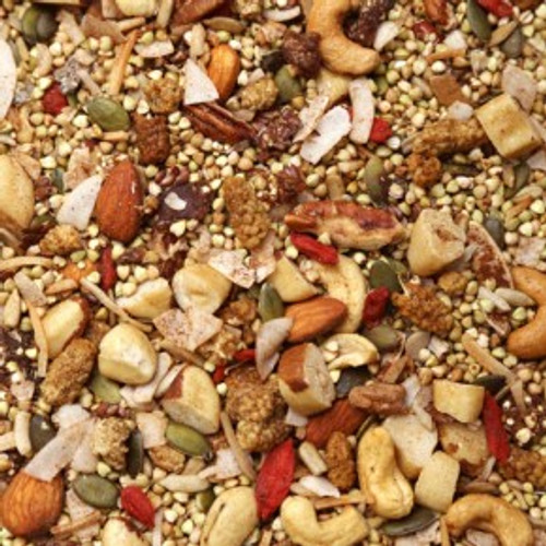 Muesli Grain Free Organic Activated - Bulk per 100g