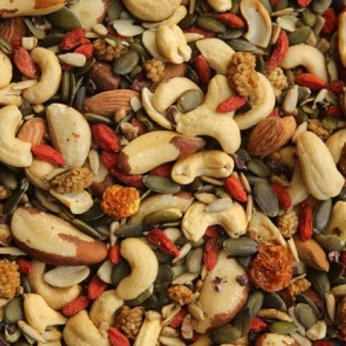 Trail Mix Deluxe Nuts & Seeds Activated  Organic - Bulk per 100g