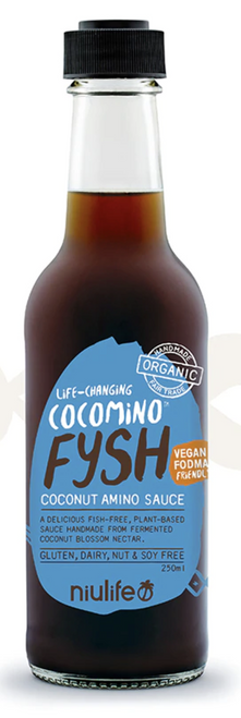 Coconut Amino Fysh Sauce 250ml - Niulife