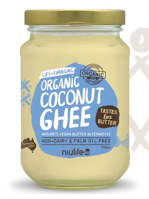 Coconut Ghee Organic 350ml - Niulife