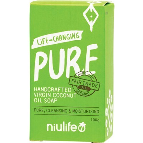 Soap Bar Coconut Oil Pure 100g - Niulife