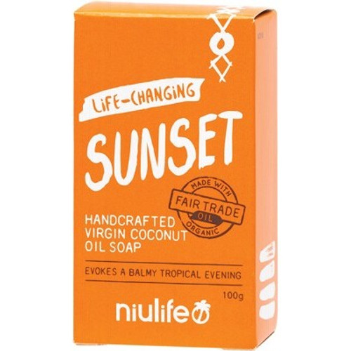 Soap Bar Coconut Oil Sunset - Niulife