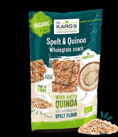 Spelt|Quinoa Crispbread 110g - Dr Kargs