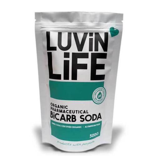 Bi-Carb Soda 500g Organic - Luvin Life