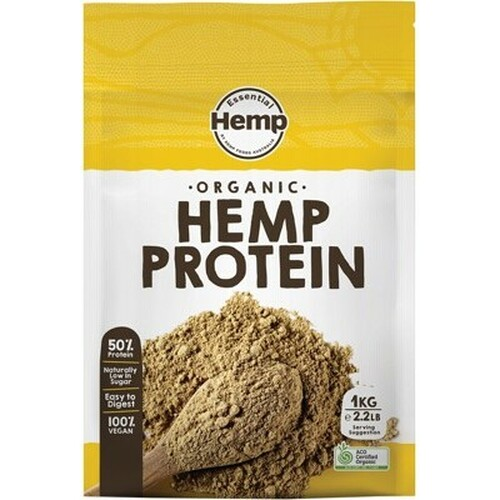 Hemp Protein Organic 1kg - Essential Hemp