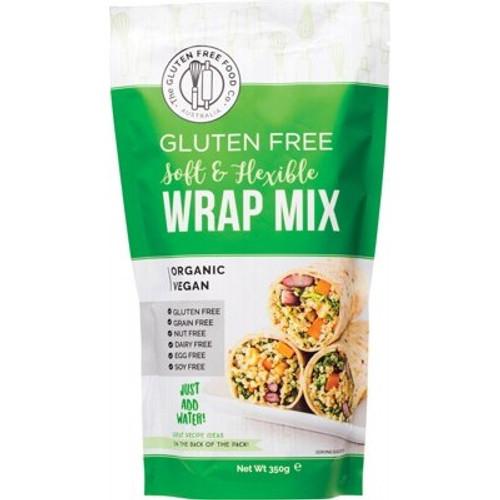 Wrap Mix Soft & Flexible Gluten Free Organic 350g - The Gluten Free Food Co