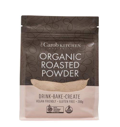 Carob Powder Roasted Organic 200g - The Carob Kitchen