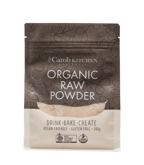 Carob Powder Raw 200g - The Carob Kitchen