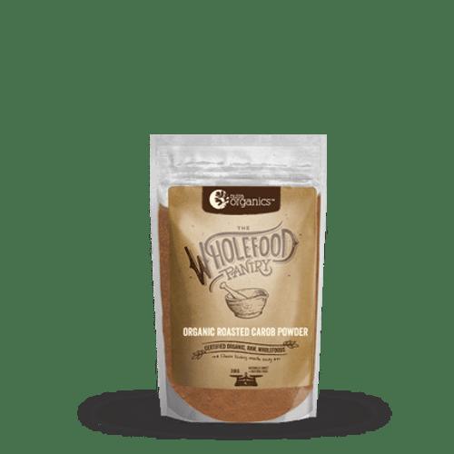 Carob Powder Roasted The Wholefood Pantry 200g- Nutra Organics