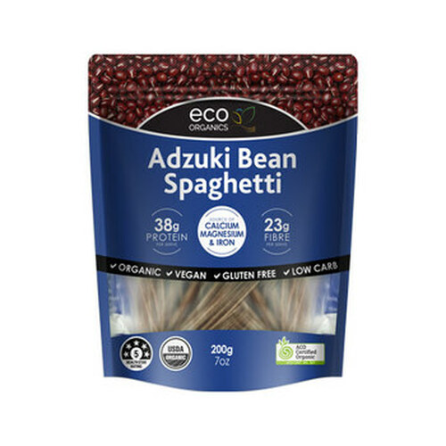 Aduki Bean Spaghetti 200g - Eco Organics