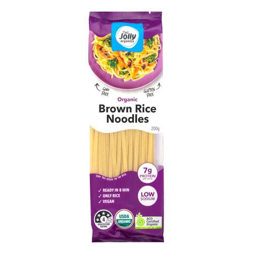 Brown Rice Noodle Organic 200g - Jolly Organics