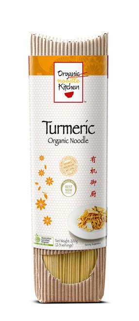 Turmeric Noodles 200g - Organic Kitchen