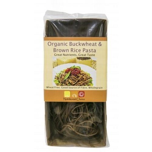 Buckwheat & Brown Rice Pasta Organic 180g - Nutritionist Choice