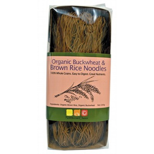 Buckwheat & Brown Rice Noodles 200g- Nutritionist Choice