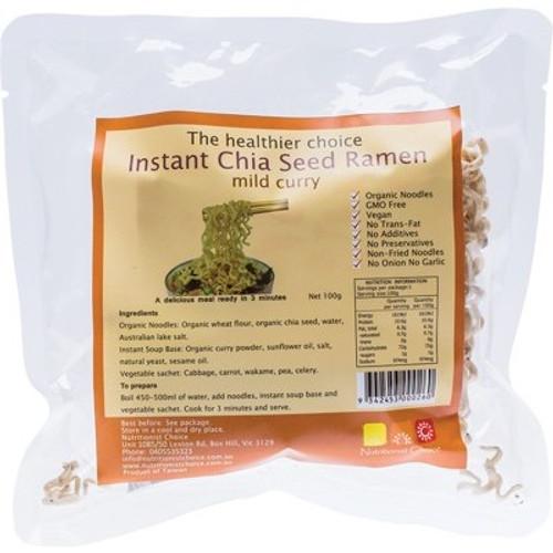 Instant Buckwheat Ramen 'Mild Curry' - Nutritionist Choice