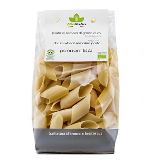 Pasta Pennoni Lisci 500g - Bioitalia