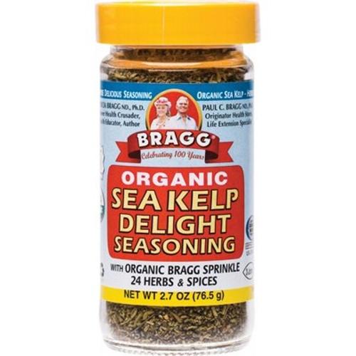 Seasoning Sea Kelp Delight Sprinkle Organic 76.5g - Bragg