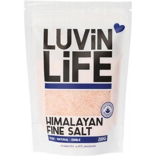 Himalayan Salt Fine 200g - Luvin' Life
