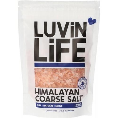 Himalayan Salt Coarse 200g - Luvin' Life