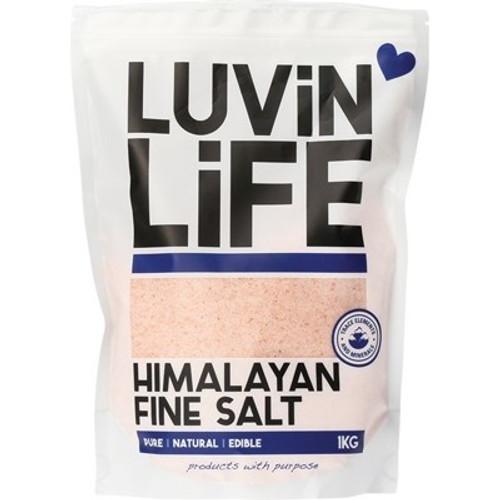 Himalayan Salt Fine 1kg - Luvin' Life