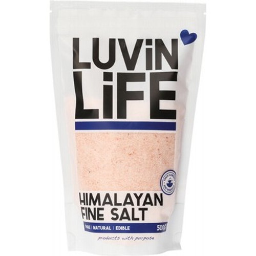 Himalayan Salt Fine 500g - Luvin' Life