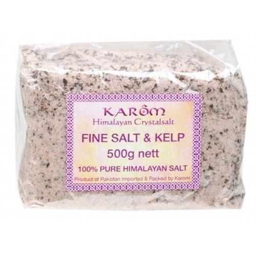 Himalayan Salt Fine + Kelp 500g - Karom