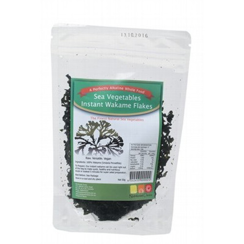 Wakame Flakes Sea Vegetable 50g - Nutritionist Choice