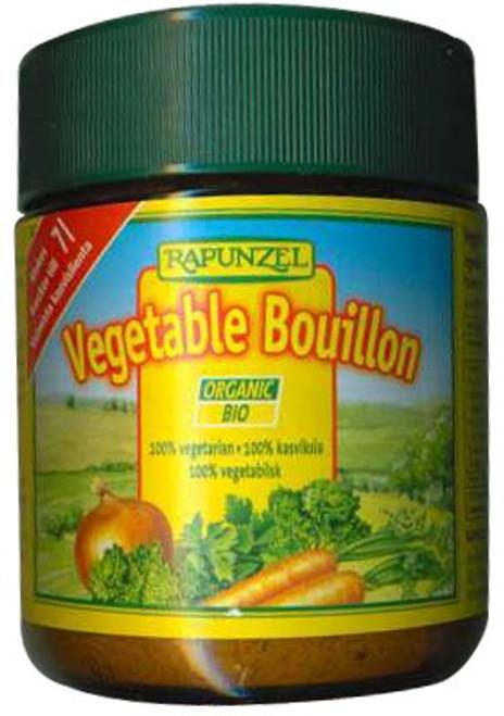 Vegetable Bouillon Powder Jar Organic 125g - Rapunzel
