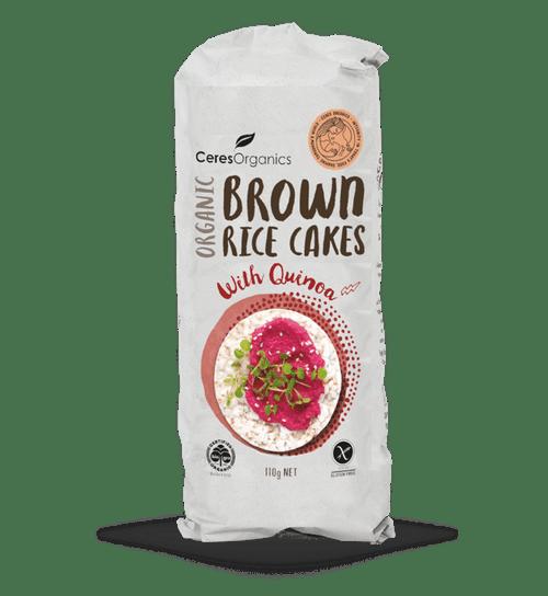 Quinoa Brown Rice Cakes 110g - Ceres Organics