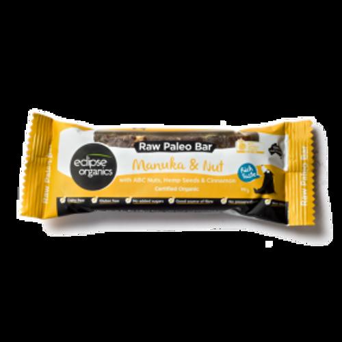 Manuka, Nut & Hemp Raw Paleo Bar - Eclipse Organics