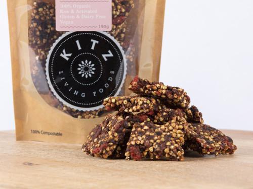 Choc Chip & Goji Chunks Organic 150g - Kitz