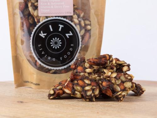 Pineapple Pepita & Almond Chunks Organic 150g - Kitz
