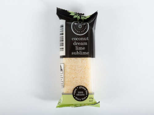 Coconut Dream Lime Sublime Bar Organic 45g - Kitz