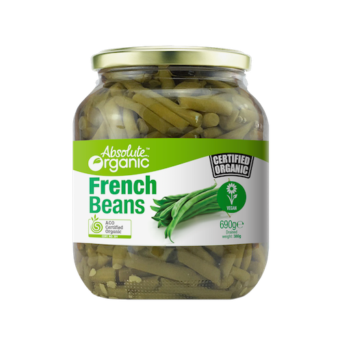 Beans French 690g - Absolute Organic