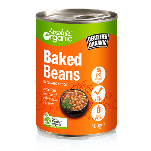 Baked Beans 400g - Absolute Organic