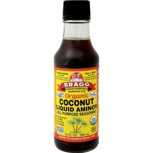 Coconut Liquid Aminos All Purpose Seasoning Organic 296ml - Bragg
