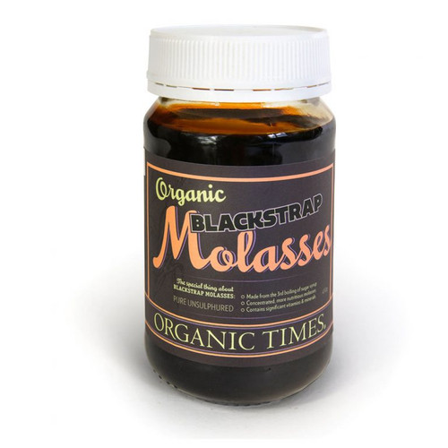Molasses Black Strap Organic 450g - Organic Times