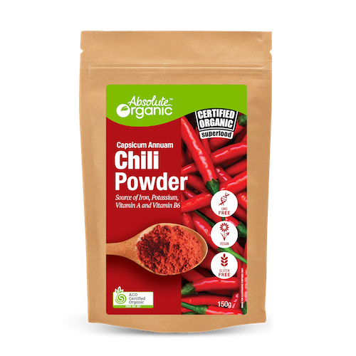 Chilli Powder 150g - Absolute Organic