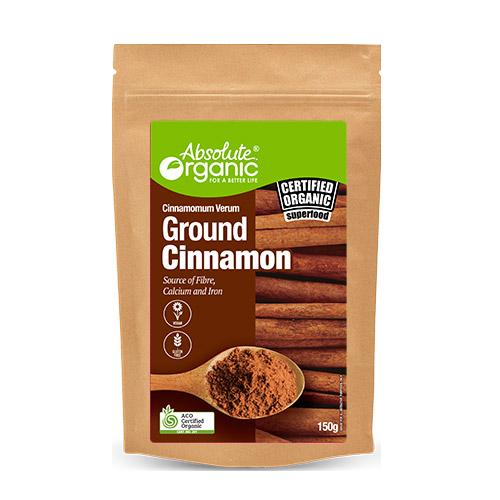 Cinnamon Ground 150g - Absolute Organic