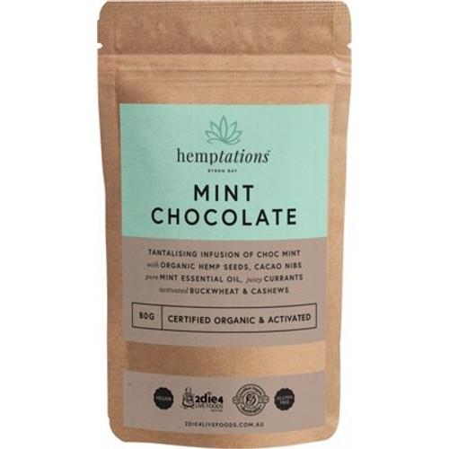 Mint Chocolate Hemptations Organic 80g - 2die4