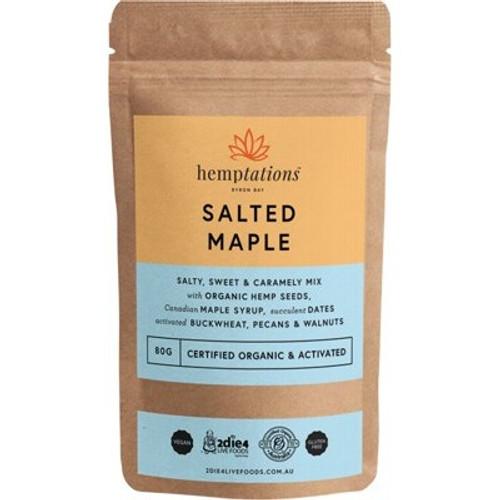 Salted Maple Hemptations Organic 80g - 2die4