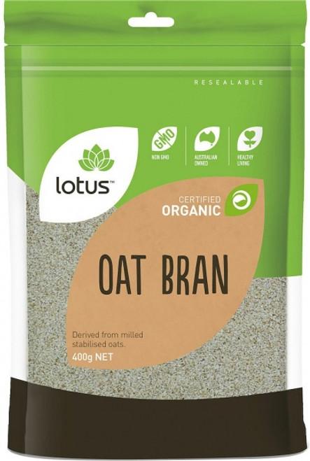 Oat Bran Organic 400g - Lotus