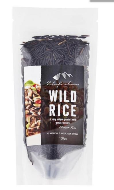 Wild Rice (Natural) 150g - Chef's Choice