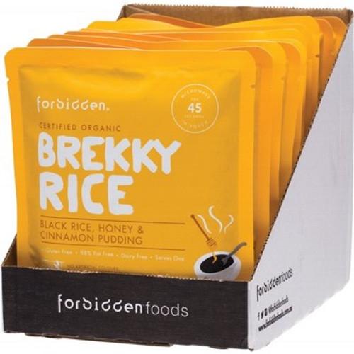 Brekky Rice - Black Rice|Honey|Cinnamon Pudding 125g - Forbidden