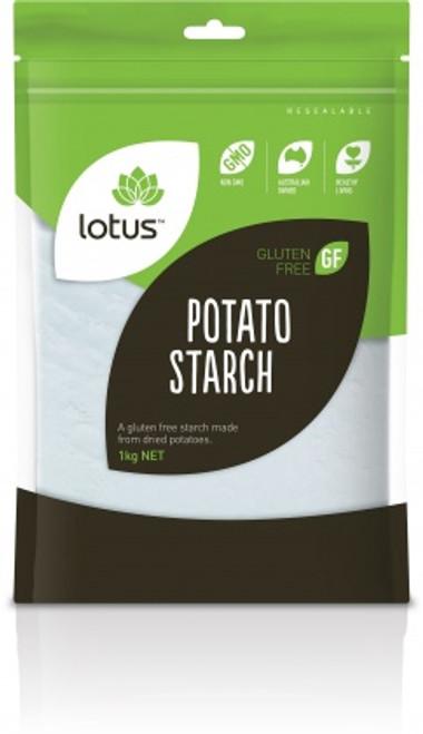 Potato Flour (Starch) Organic 375g - Lotus