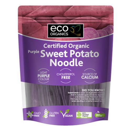 Sweet Potato Noodle Purple 200g- Eco Organics