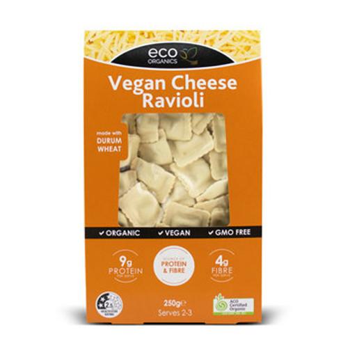 Ravioli Pasta Cheese Vegan Organic 250g - Eco Organics