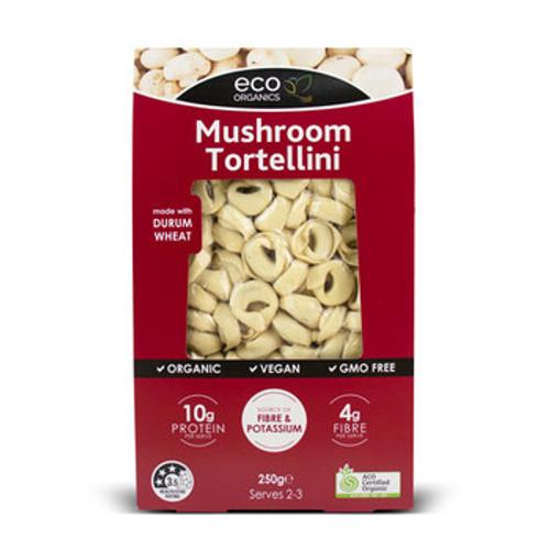 Tortellini Pasta Mushroom Vegan 250g - Eco Organics