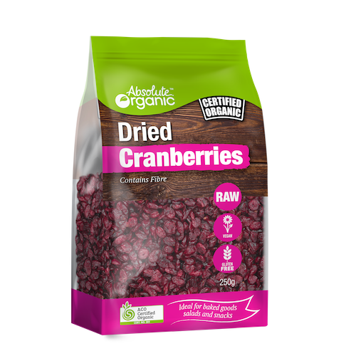 Cranberries Organic 250g - Absolute Organic